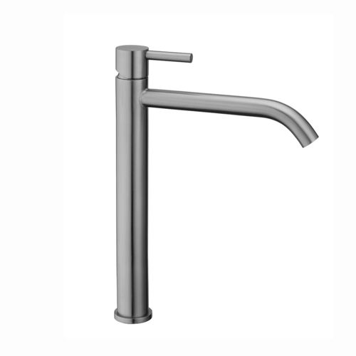 Washbasin mixer without waste Paffoni STEEL 081 - FIRST CHOICE