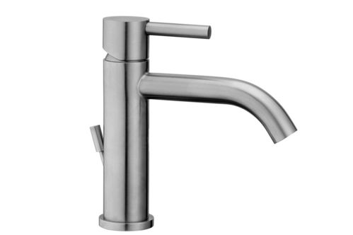 Washbasin mixer without waste Paffoni STEEL 071 - FIRST CHOICE
