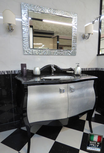 Offer Versailles Classic Bathroom Furniture in retro style and luxurious black marble tops online sa