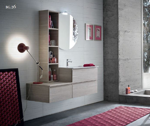 COMPATIBLE BATHROOM FROM 121XPR 51.5 OAK SKIN