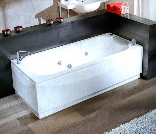 NOVELLINI Calypso bathtub 170x70 with HYDROMASSAGE and remote control