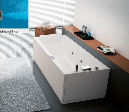 NOVELLINI CALOS badkar 170X70 MED HYDRO + WHITE DISINFECTION 2 PANELS