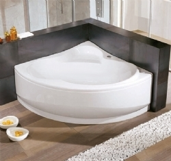 NOVELLINI ONE symmetric angular bathtub without hydro