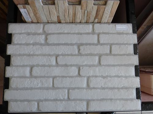 Präglat tegelstenverk Brick Wall Coating
